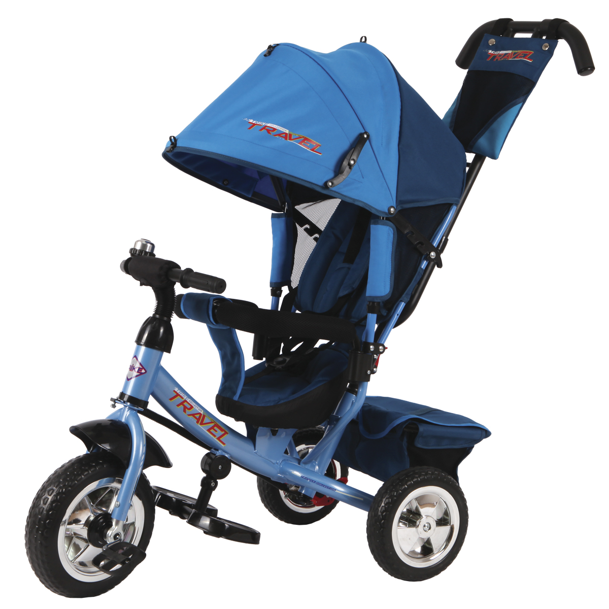 Travel Велосипед трехколесный цвет синий TT2B