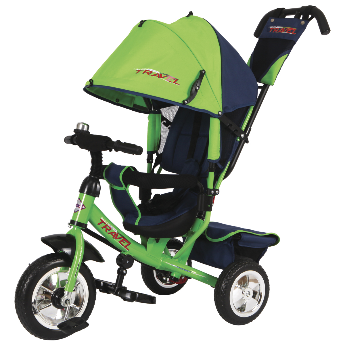 Travel Велосипед трехколесный цвет зеленый TT2G