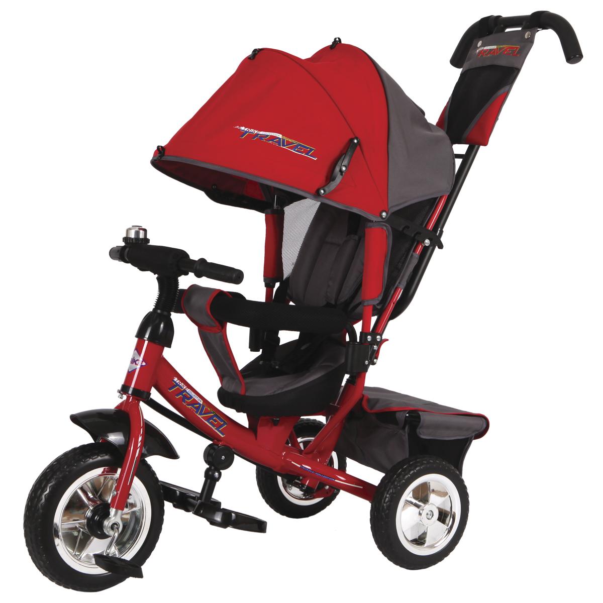 Travel Велосипед трехколесный цвет красный TT2R