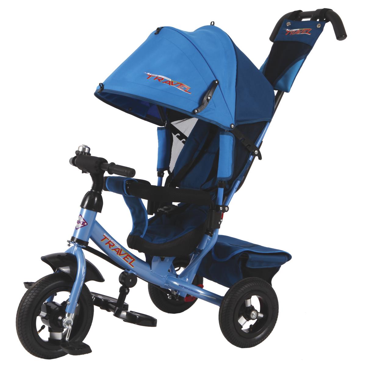 Travel Велосипед трехколесный цвет синий TTA2B