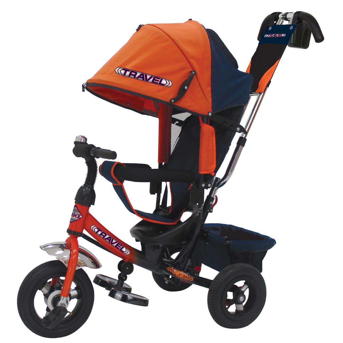 Travel Велосипед трехколесный цвет оранжевый TTA2O - Велосипеды-каталки