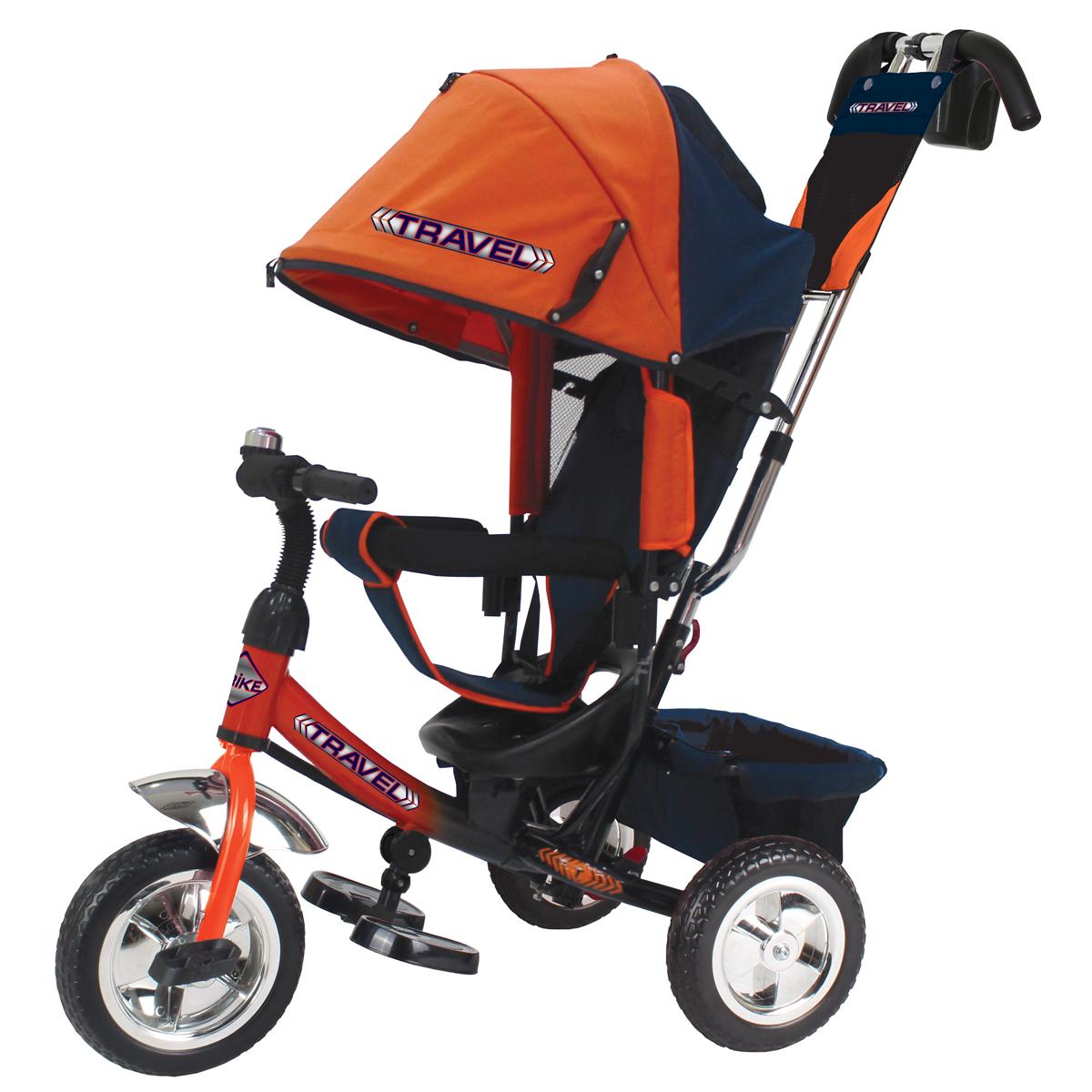 Travel Велосипед трехколесный цвет оранжевый черный TT2O/o - Велосипеды-каталки