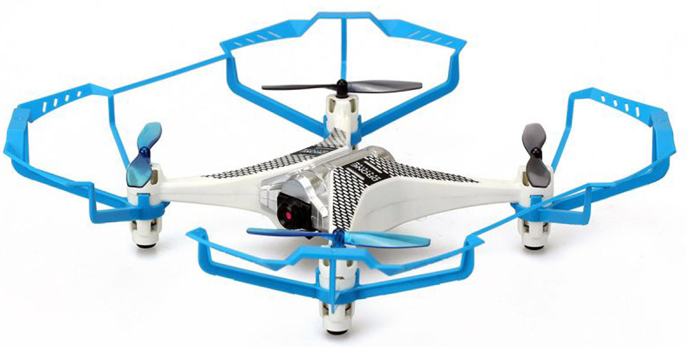 Silverlit Квадрокоптер Селфи с камерой цвет голубой