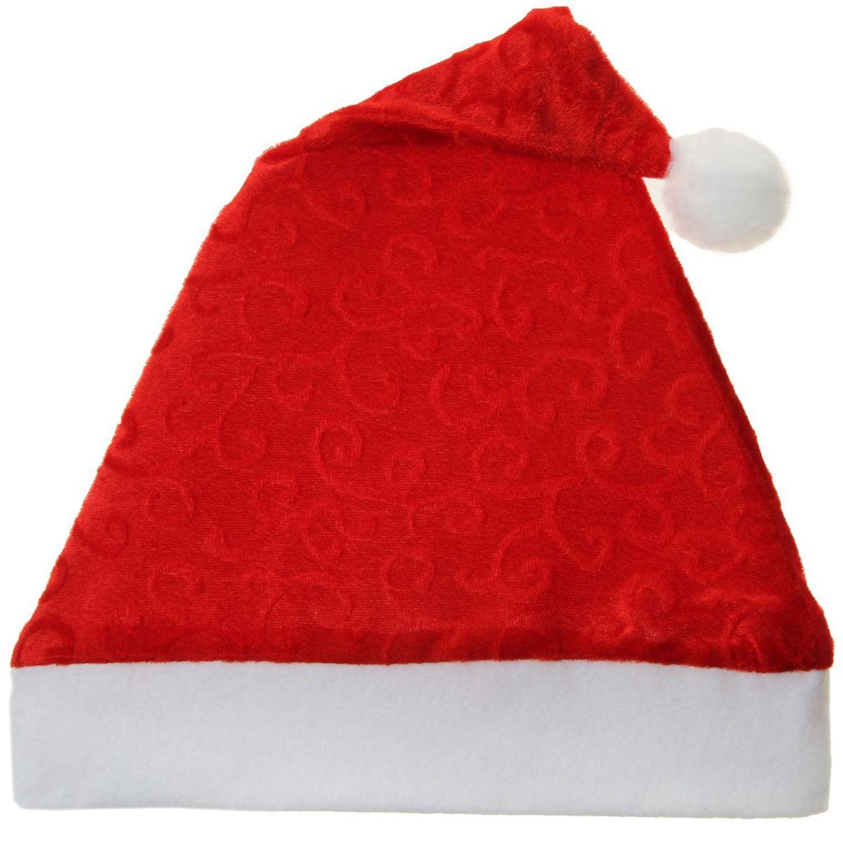 Колпак новогодний Вензеля, 28 х 38 см811376Поддайтесь новогоднему веселью на полную катушку! Забавный колпак в секунду создаст праздничное настроение, будь то поздравление ребятишек или вечеринка с друзьями. Размер изделия универсальный: аксессуар подойдет как для ребенка, так и для взрослого. А мягкий текстиль позволит носить колпак с комфортом на протяжении всей новогодней ночи.