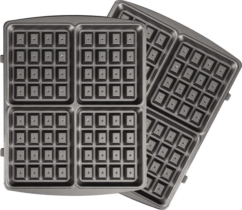 Redmond RAMB-102, Black панель для мультипекаряRAMB-102Универсальные съемные панели RAMB-102 для мультипекаря Redmond серии PRO! Предназначены для приготовления оригинальных венских, шведских или бельгийских вафель, а также разнообразных вариаций этих десертов. Панели подойдут для выпечки шоколадных или песочных вафель, а также – закусочных вафель без сахара в тесте. Пресные горячие вафли можно использовать в качестве основы для закусок с паштетами, сырами, колбасами.Швейцарское керамическое антипригарное покрытие ILAG Ceralon позволяет готовить на панелях без масла или добавляя его совсем немного. Ваши блюда отлично пропекутся и поджарятся, и при этом получатся более диетическими!Панели изготовлены из металла – они долговечны и легки в уходе. Остывшие панели после использования достаточно вымыть под проточной водой с использованием обычных неабразивных моющих средств.