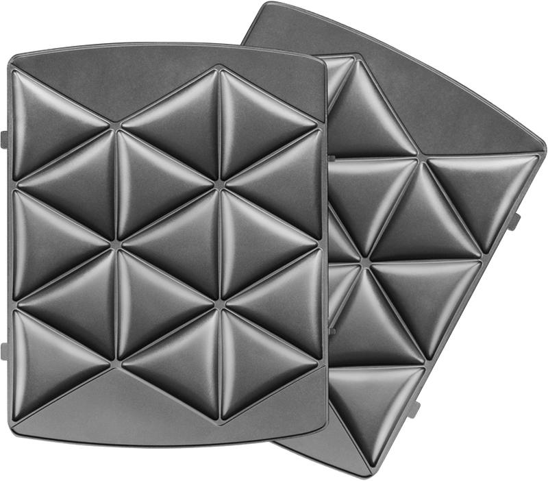 Redmond RAMB-107, Black панель для мультипекаряRAMB-107Универсальные съемные панели RAMB-107 для мультипекаря Redmond серии Pro! Панели предназначены для быстрой и удобной выпечки печенья и пряников треугольной формы. Также в формах удобно готовить сырники, некоторые виды овощных оладий, небольшие пирожки.Швейцарское керамическое антипригарное покрытие ILAG Ceralon позволяет готовить на панелях без масла или добавляя его совсем немного. Ваши блюда отлично пропекутся и поджарятся, и при этом получатся более диетическими!Панели изготовлены из металла – они долговечны и легки в уходе. Остывшие панели после использования достаточно вымыть под проточной водой с использованием обычных неабразивных моющих средств.