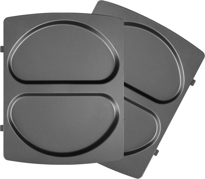 Redmond RAMB-117, Black панель для мультипекаряRAMB-117Универсальные съемные панели RAMB-117 для мультипекаря Redmond серии Pro! Подходят для приготовления омлетов с пряными травами, кусочками ветчины или овощей. Также на этих панелях удобно готовить разнообразные закуски – например, такос и кесадилью. В полукруглых формах отлично получаются сочные домашние чебуреки, а также – пироги и запеканки.Швейцарское керамическое антипригарное покрытие ILAG Ceralon позволяет готовить на панелях без масла или добавляя его совсем немного. Ваши блюда отлично пропекутся и поджарятся, и при этом получатся более диетическими!Панели изготовлены из металла – они долговечны и легки в уходе. Остывшие панели после использования достаточно вымыть под проточной водой с использованием обычных неабразивных моющих средств.