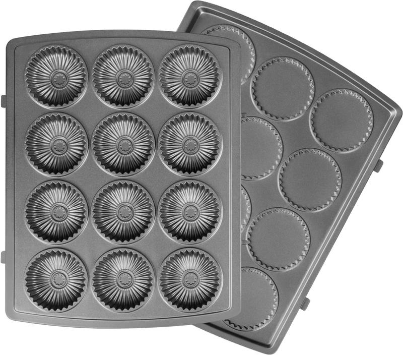 Redmond RAMB-131, Black панель для мультипекаряRAMB-131Универсальные съемные панели RAMB-131 для мультипекаря Redmond серии Pro! С помощью этих панелей вы сможете готовить тающее во рту курабье по традиционным восточным рецептам или, изменив рецепт теста, сделать оригинальное домашнее печенье или пряники.Швейцарское керамическое антипригарное покрытие ILAG Ceralon позволяет готовить на панелях без масла или добавляя его совсем немного. Ваши блюда отлично пропекутся и поджарятся, и при этом получатся более диетическими!Панели изготовлены из металла – они долговечны и легки в уходе. Остывшие панели после использования достаточно вымыть под проточной водой с использованием обычных неабразивных моющих средств.