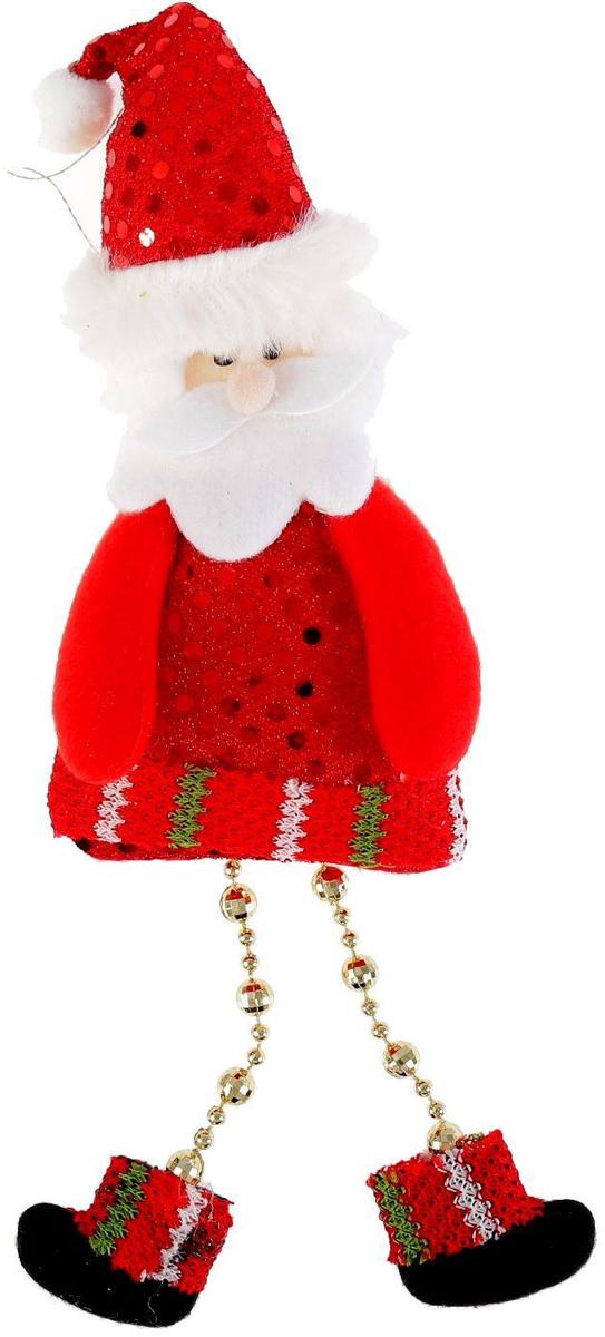 Украшение новогоднее подвесное NoName Дед Мороз с блестками, 8 х 19 см2388986Новогоднее подвесное украшение Дед Мороз с блестками выполнено из текстиля. С помощью специальной петельки украшение можно повесить в любом понравившемся вам месте. Но, конечно, удачнее всего оно будет смотреться на праздничной елке.Елочная игрушка - символ Нового года. Она несет в себе волшебство и красоту праздника. Создайте в своем доме атмосферу веселья и радости, украшая новогоднюю елку нарядными игрушками, которые будут из года в год накапливать теплоту воспоминаний.