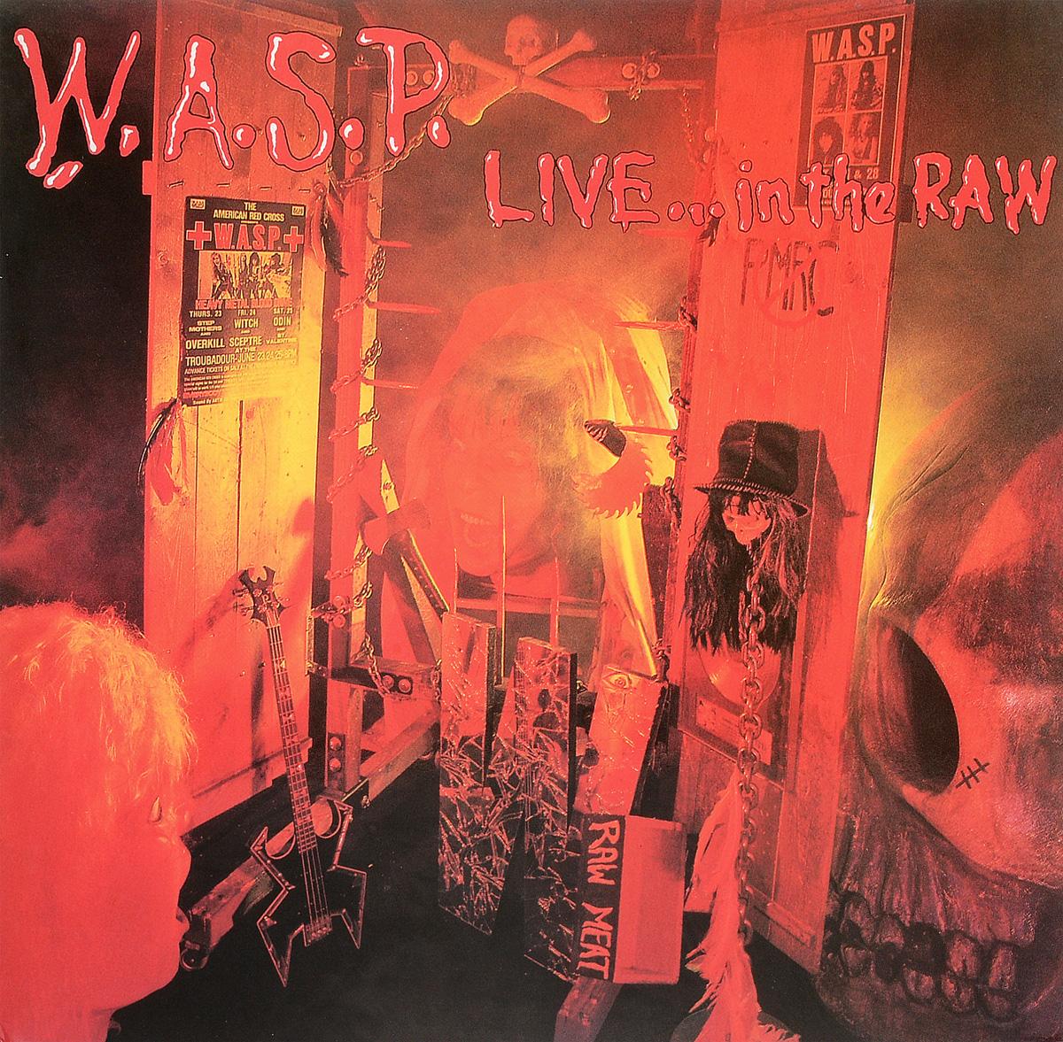 W.A.S.P. W.A.S.P. Live In The Raw (2 LP) procol harum procol harum live in concert with the edmonton symphony 2 lp colour