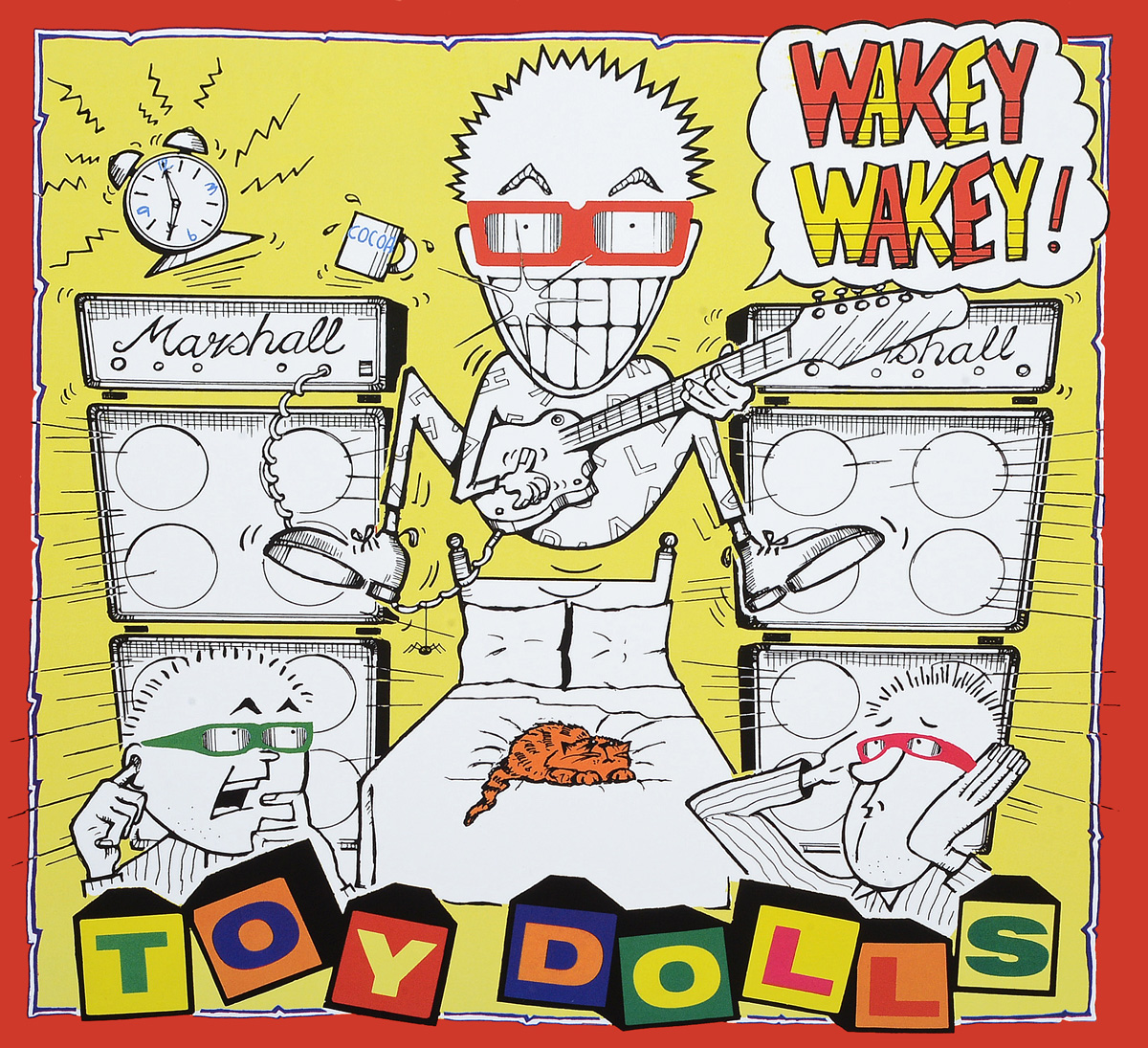 The Toy Dolls The Toy Dolls. Wakey Wakey (LP) ботинки sweet shoes sweet shoes sw010awxyy64