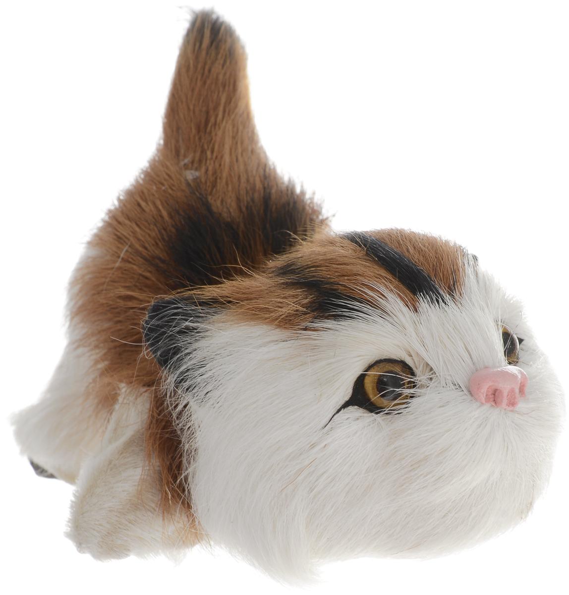 Vebtoy Фигурка Котенок играющий цвет коричневый vebtoy фигурка котенок сидящий цвет белый c226