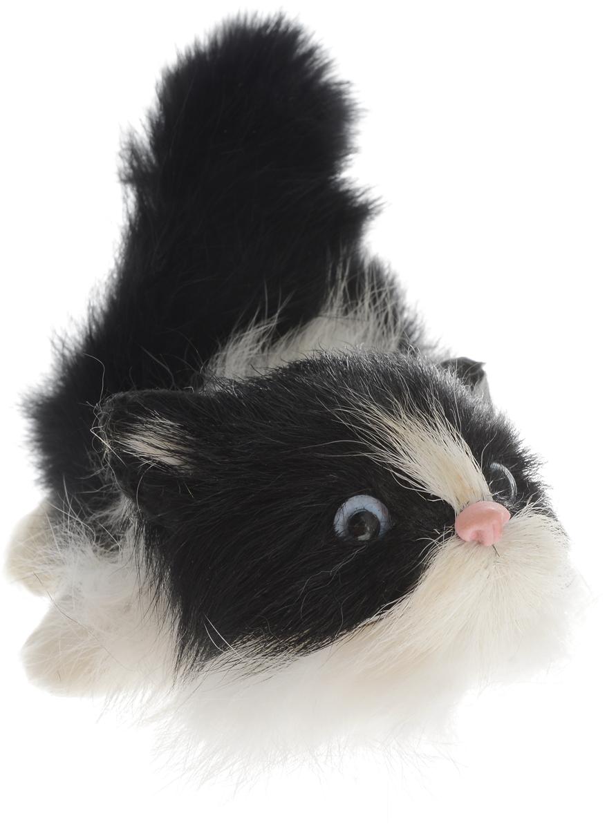 Vebtoy Фигурка Котенок играющий цвет черный vebtoy фигурка котенок сидящий цвет белый c226