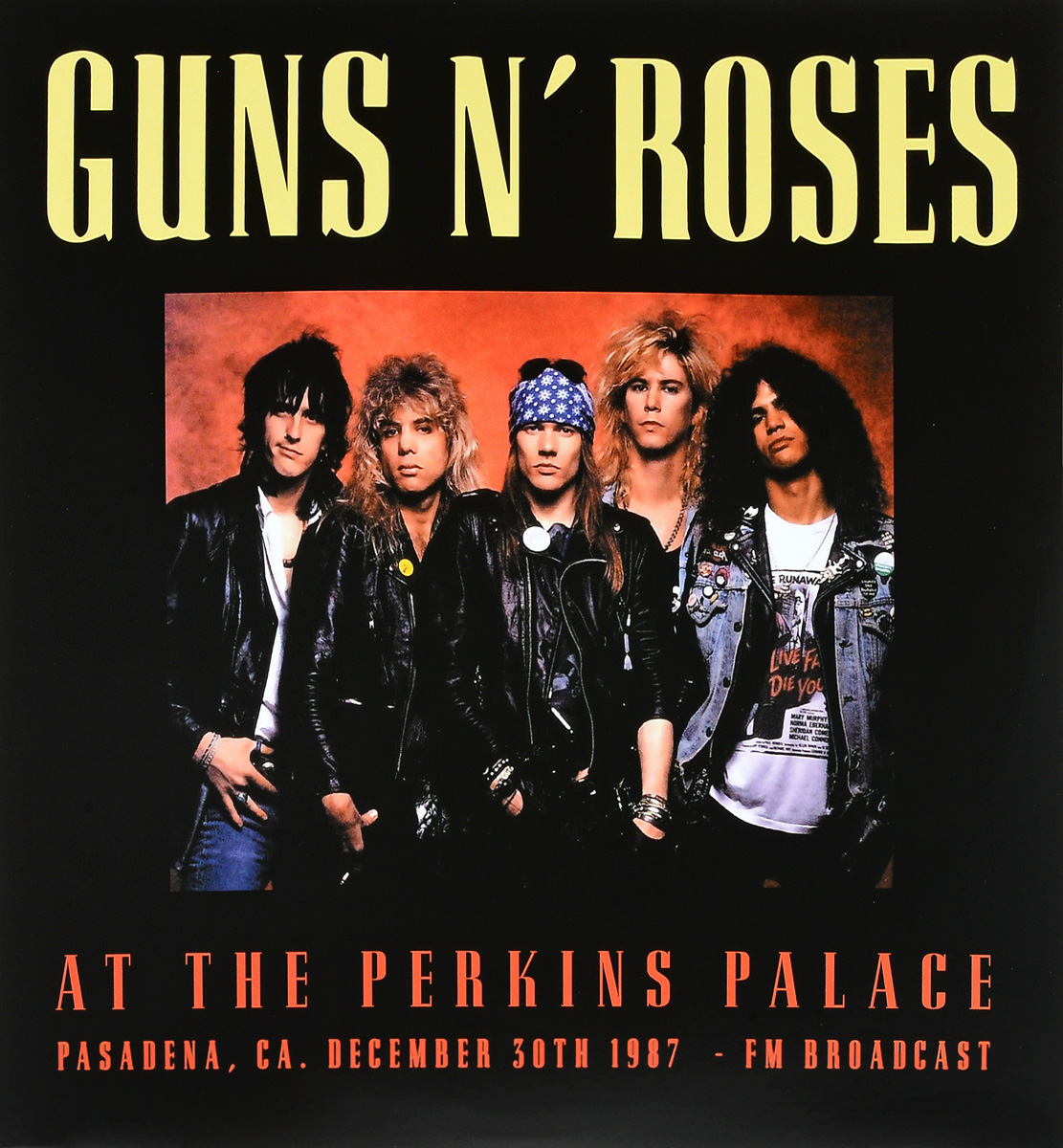 Guns N' Roses Guns N Roses. At The Perkins Palace (2 LP) футболка стрэйч printio guns n roses