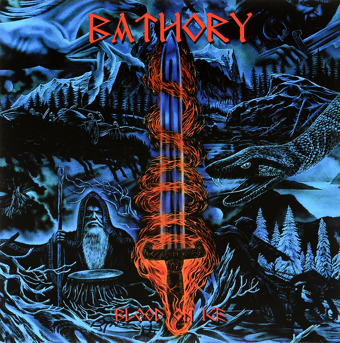 Bathory Bathory. Blood On Ice (2LP) disney on ice monterrey sigue tus emociones
