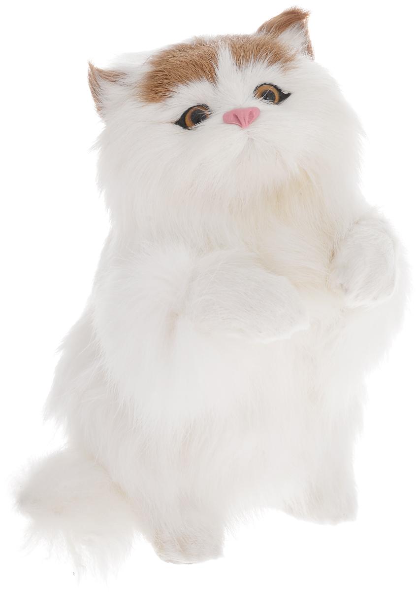 Vebtoy Фигурка Кошка на задних лапах цвет белый vebtoy фигурка котенок сидящий цвет белый c226