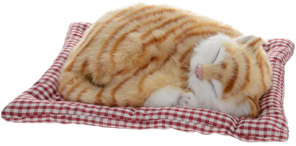 Vebtoy Фигурка Кошка Оранжевый тэбби на коврике