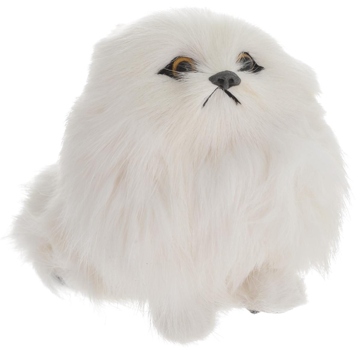 Vebtoy Фигурка Собака Пекинес цвет белый