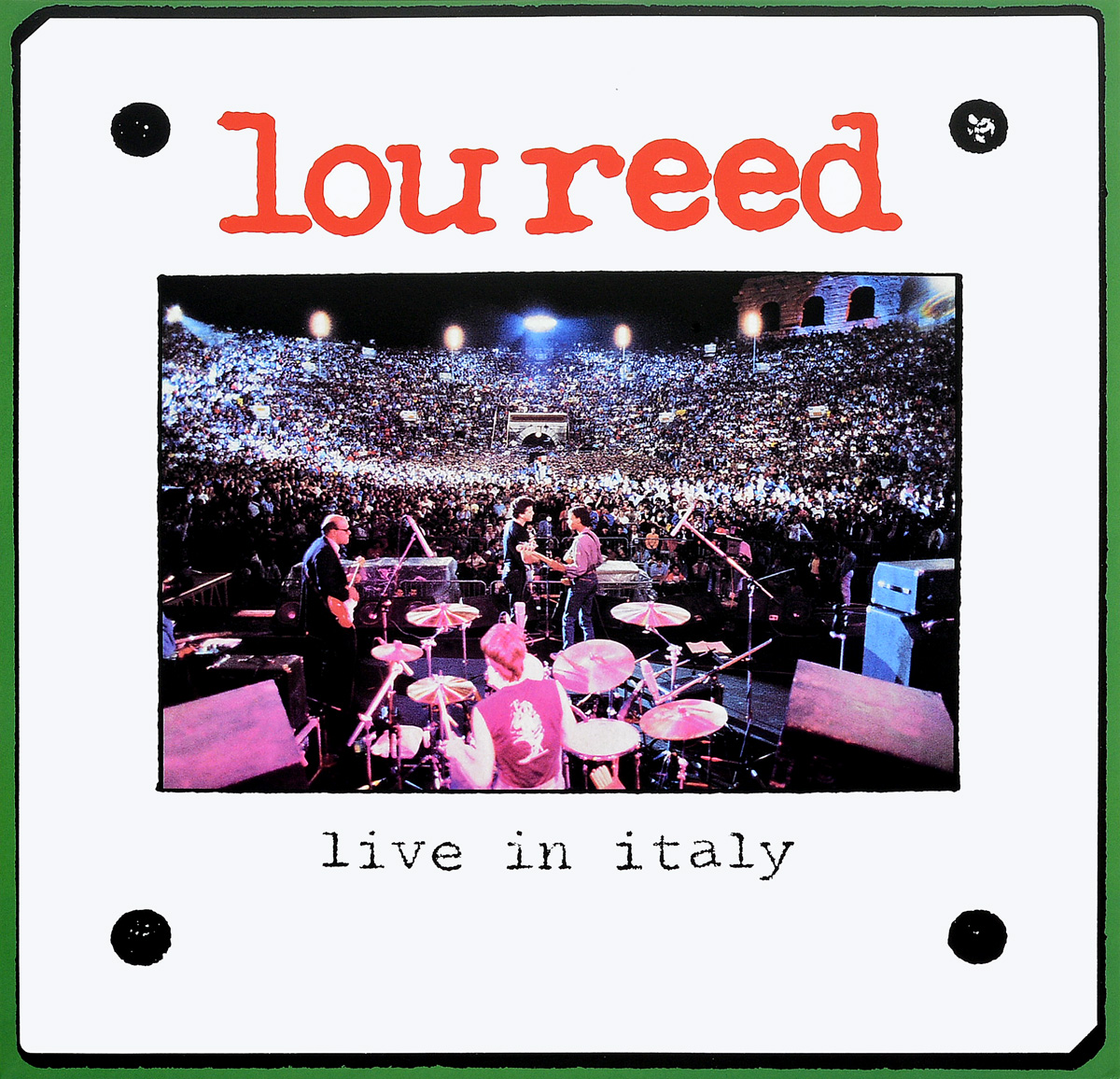 Лу Рид Lou Reed. Live In Italy (2 LP) lou reed lou reed live in italy 2 lp