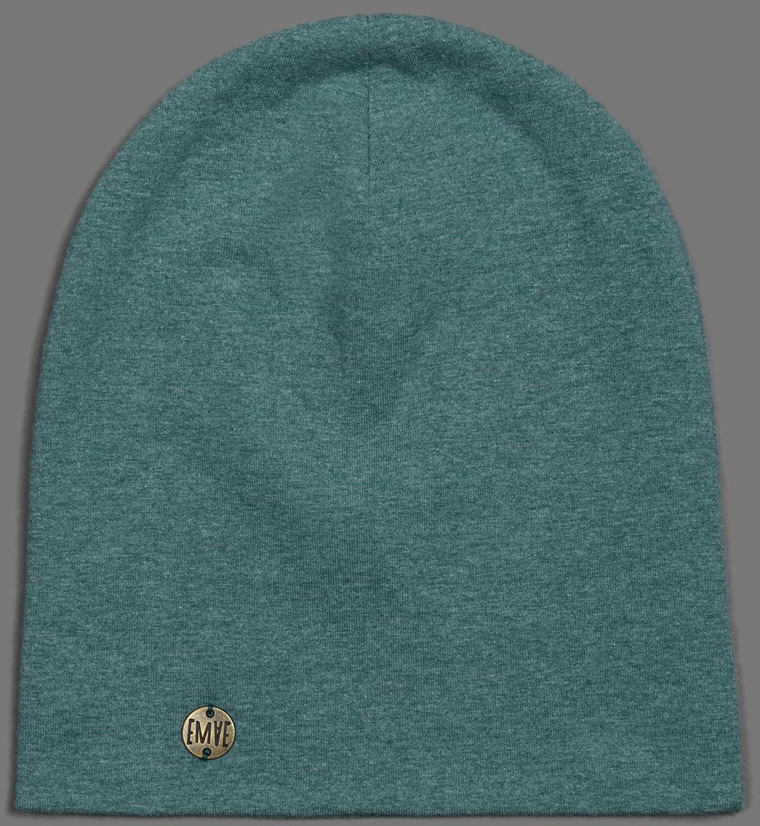 Шапка для мальчиков Ёмаё, цвет: зеленый. 45-607. Размер 5245-607Шапочка от ТМ ЁМАЁ, коллекуция Городские Сумасшедшие.