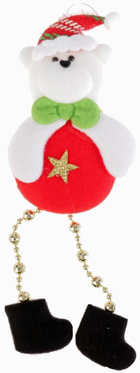 Украшение новогоднее подвесное NoName Мишка-кругляш. Звездочка, 8 х 12 см2388979Новогоднее подвесное украшение NoName Мишка-кругляш. Звездочка с помощью специальной петельки можно повесить в любом понравившемся вам месте. Но, конечно, удачнее всего оно будет смотреться на праздничной елке. Елочная игрушка - символ Нового года. Она несет в себе волшебство и красоту праздника. Создайте в своем доме атмосферу веселья и радости, украшая новогоднюю елку нарядными игрушками, которые будут из года в год накапливать теплоту воспоминаний.