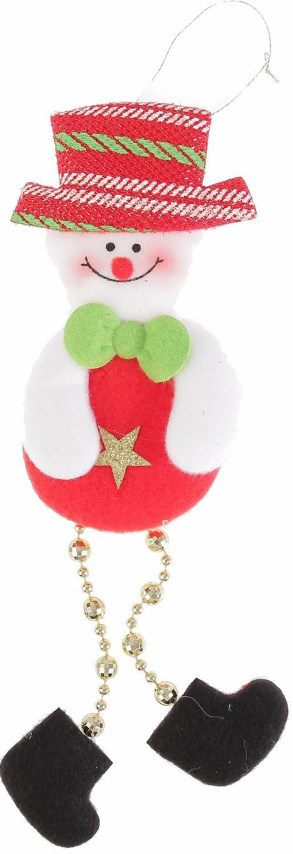 Украшение новогоднее подвесное NoName Снеговик-кругляш. Звездочка, 8 х 13 см2388977Новогоднее подвесное украшение NoName Снеговик-кругляш. Звездочка выполнено из текстиля. С помощью специальной петельки украшение можно повесить в любом понравившемся вам месте. Но, конечно, удачнее всего оно будет смотреться на праздничной елке.Елочная игрушка - символ Нового года. Она несет в себе волшебство и красоту праздника. Создайте в своем доме атмосферу веселья и радости, украшая новогоднюю елку нарядными игрушками, которые будут из года в год накапливать теплоту воспоминаний.