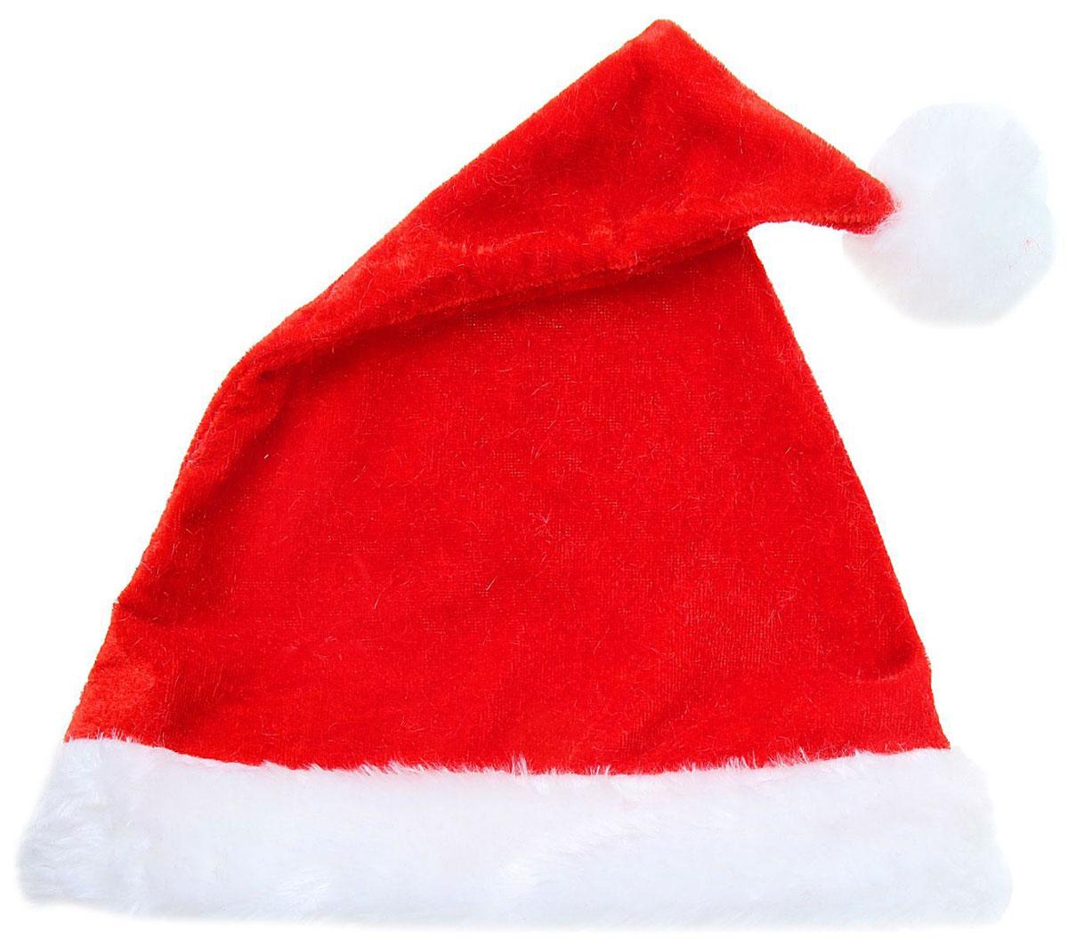 Колпак новогодний Легкий кантик, 26 х 36 см1112360Поддайтесь новогоднему веселью на полную катушку! Забавный колпак всекунду создаст праздничное настроение, будь то поздравление ребятишек иливечеринка с друзьями. Размер изделия универсальный: аксессуар подойдет какдля ребенка, так и для взрослого. А мягкий текстиль позволит носить колпак скомфортом на протяжении всей новогодней ночи.