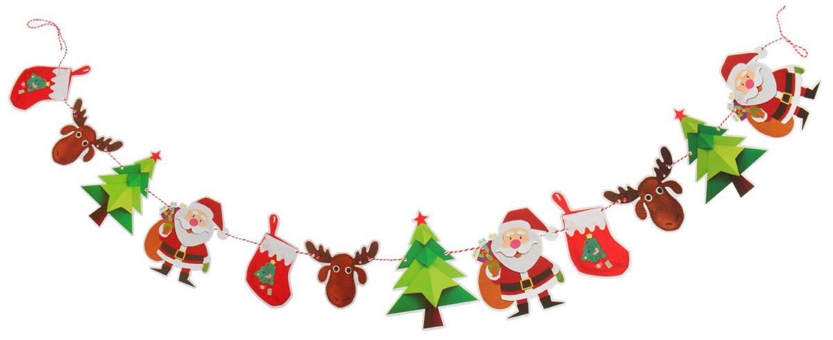 Гирлянда на елку Зимний праздник. 23791202379120Невозможно представить нашу жизнь без праздников! Мы всегда ждем их и предвкушаем, обдумываем, как проведем памятный день, тщательно выбираем подарки и аксессуары, ведь именно они создают и поддерживают торжественный настрой. Это отличный выбор, который привнесет атмосферу праздника в ваш дом!