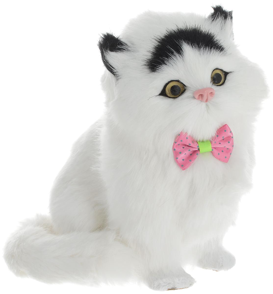 Vebtoy Фигурка Котенок сидящий цвет белый C350 vebtoy фигурка котенок сидящий цвет белый c226