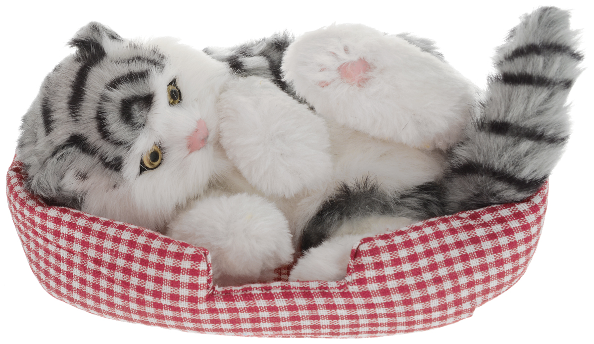 Vebtoy Фигурка Кошка на коврике цвет серый