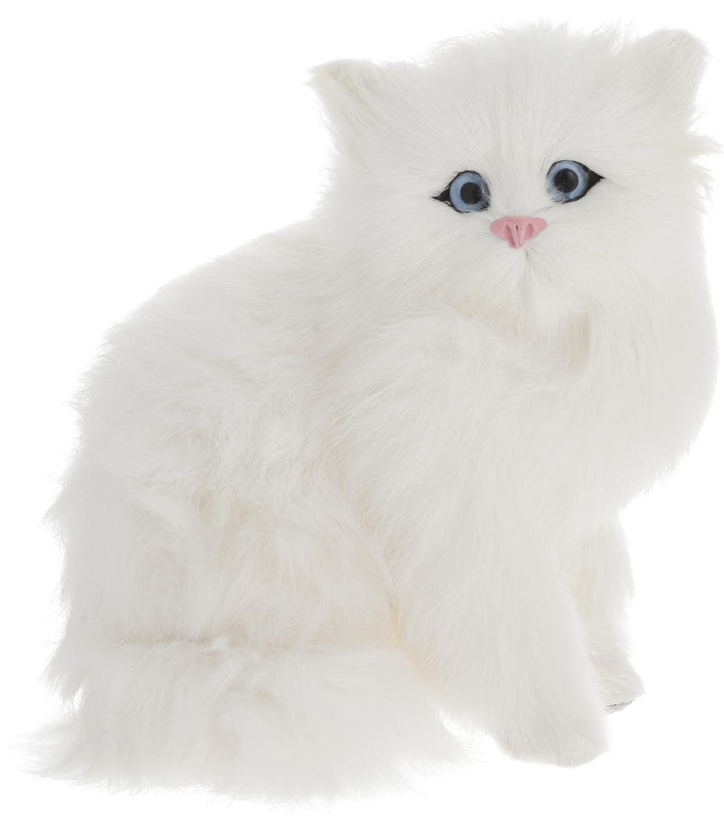 Vebtoy Фигурка Кошка сидящая цвет белый C221