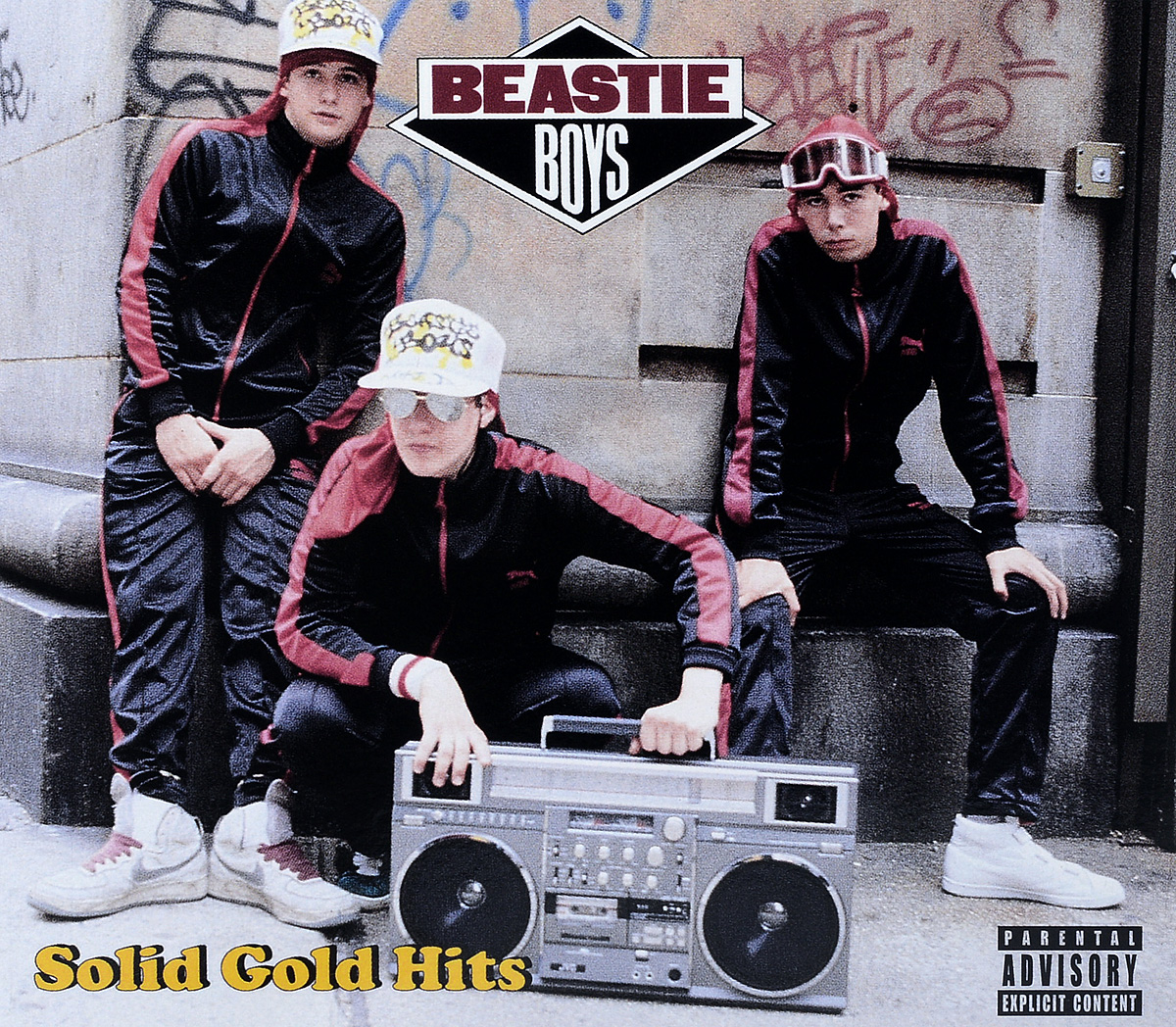 The Beastie Boys BEASTIE BOYS. SOLID GOLD HITS boys solid jacket