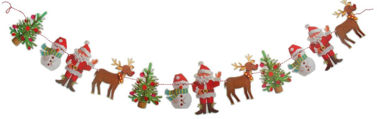 Гирлянда на елку Веселые друзья. 23791182379118Невозможно представить нашу жизнь без праздников! Мы всегда ждем их и предвкушаем, обдумываем, как проведем памятный день, тщательно выбираем подарки и аксессуары, ведь именно они создают и поддерживают торжественный настрой. Это отличный выбор, который привнесет атмосферу праздника в ваш дом!