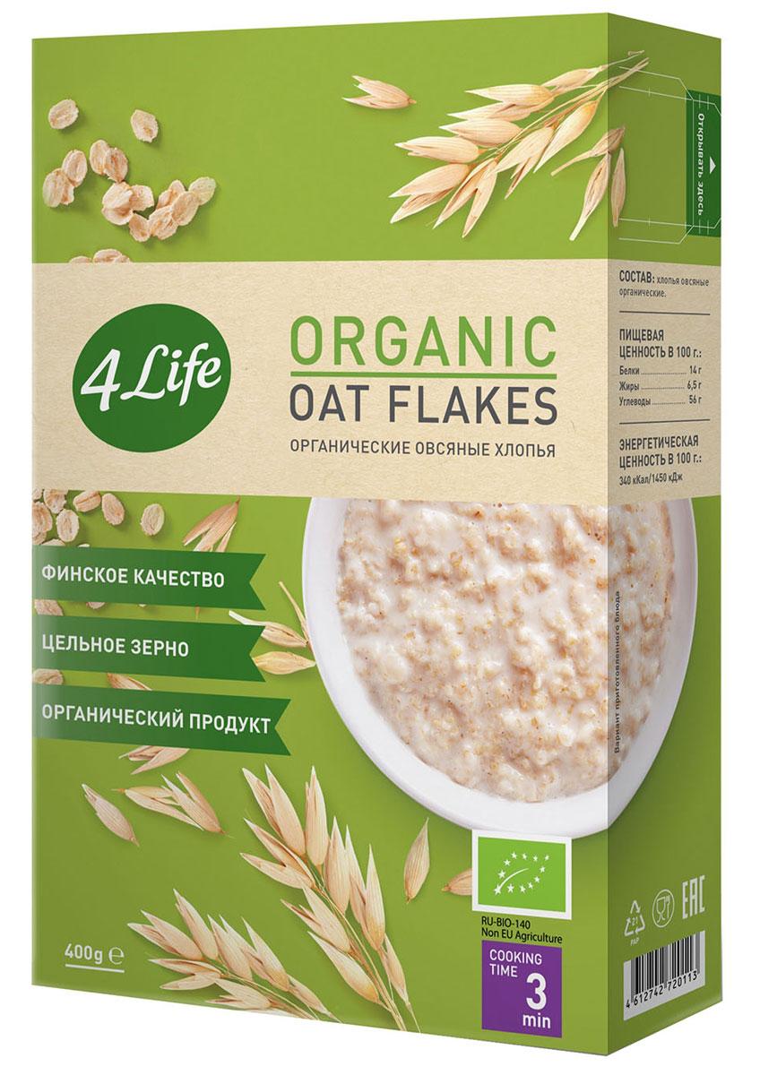 4Life органические овсяные хлопья, 400 г 4life органические 4 х зерновые хлопья 400 г