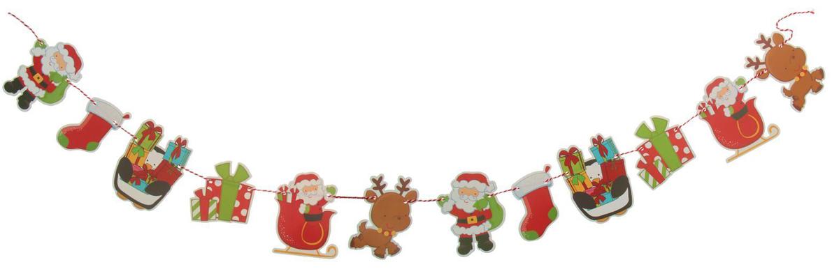 Гирлянда на елку Новогоднее настроение. 23791152379115Невозможно представить нашу жизнь без праздников! Мы всегда ждем их и предвкушаем, обдумываем, как проведем памятный день, тщательно выбираем подарки и аксессуары, ведь именно они создают и поддерживают торжественный настрой. Это отличный выбор, который привнесет атмосферу праздника в ваш дом!
