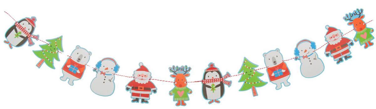 Гирлянда новогодняя Новый год, длина 2,3 м. 23791132379113Невозможно представить нашу жизнь без праздников! Мы всегда ждем их и предвкушаем, обдумываем, как проведем памятный день, тщательно выбираем подарки и аксессуары, ведь именно они создают и поддерживают торжественный настрой. Это отличный выбор, который привнесет атмосферу праздника в ваш дом!
