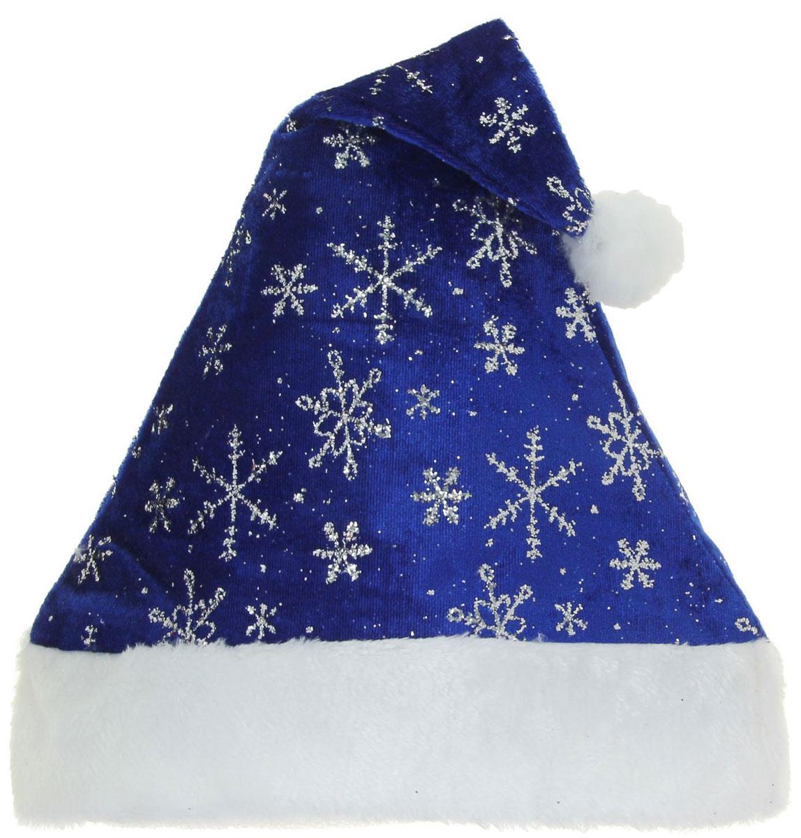 Колпак новогодний Снегопад, 29 х 40 см811346Поддайтесь новогоднему веселью на полную катушку! Забавный колпак в секунду создаст праздничное настроение, будь то поздравление ребятишек или вечеринка с друзьями. Размер изделия универсальный: аксессуар подойдет как для ребенка, так и для взрослого. А мягкий текстиль позволит носить колпак с комфортом на протяжении всей новогодней ночи.
