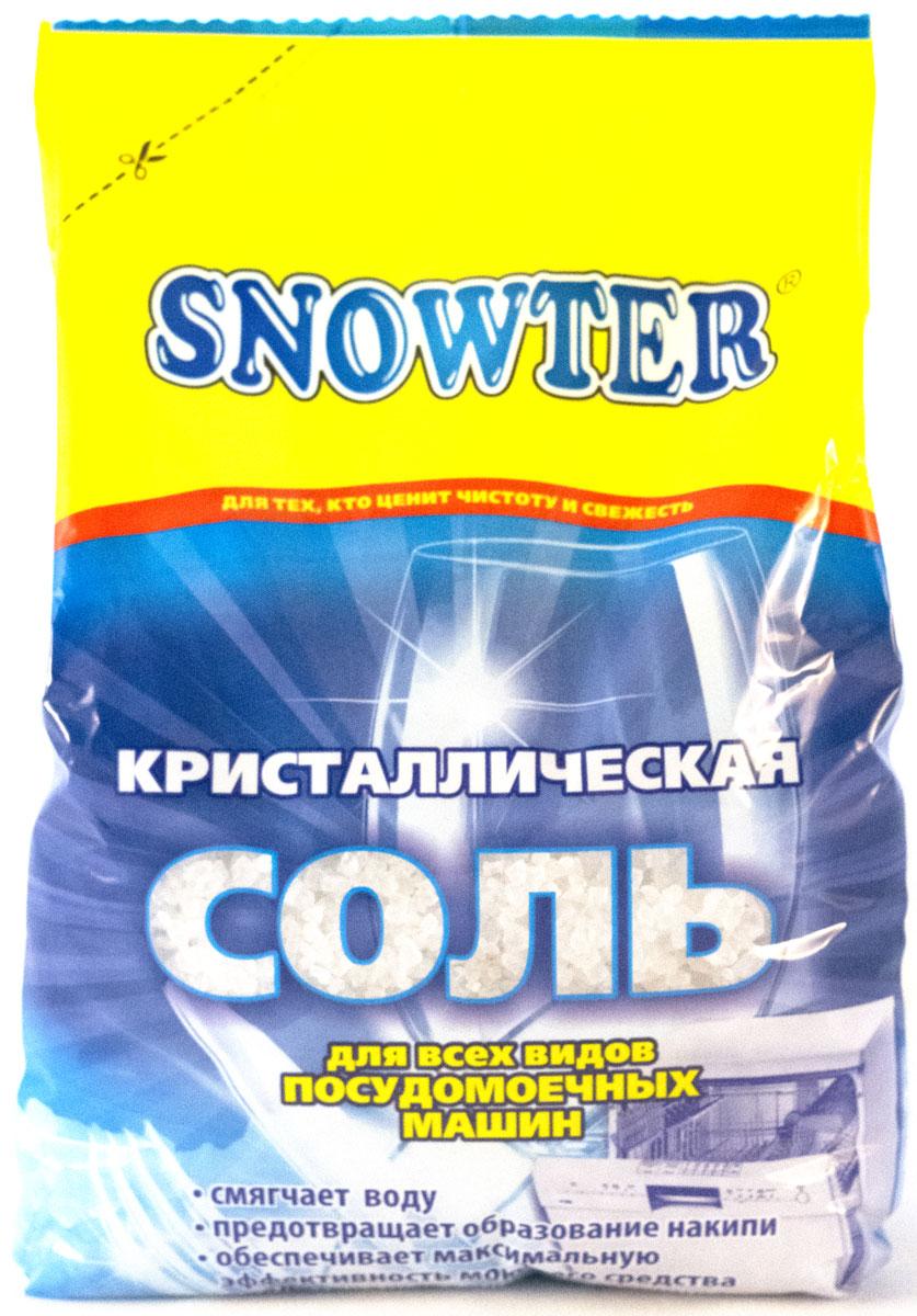Соль для посудомоечных машин Snowter, 1,5 кг601-2-2078Кристаллическая соль для всех видов посудомоечных машин. Предназначена для смягчения воды; Предотвращает образование накипи; Обеспечивает максимальную эффективность моющего средства. Подходит для всех типов посудомоечных машин.