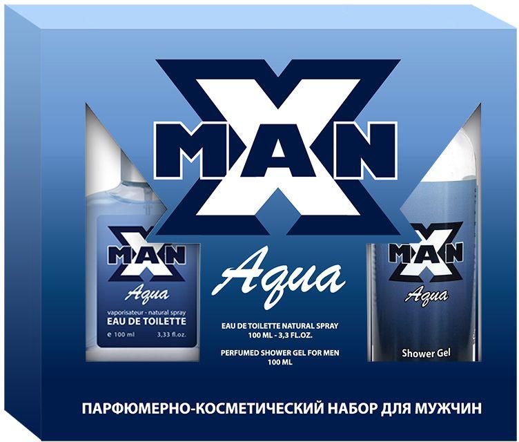 Apple Parfums Набор подарочный мужской X Man Aqua: туалетная вода 100 мл, гель для душа 100 мл43506X-Man Aqua – источник энергии, эликсир, обещающий победу в любом деле. Такой аромат должен быть у каждого настоящего мужчины. Он обладает особым магнетизмом, привлекая внимание к своему обладателю! Семейство аромата: фужерный, водяной. Основные ноты: морские ноты, мята, розмарин, лаванда, жасмин, сандал, неволи, герань, дубовый мох, мускус, амбра и кедр.