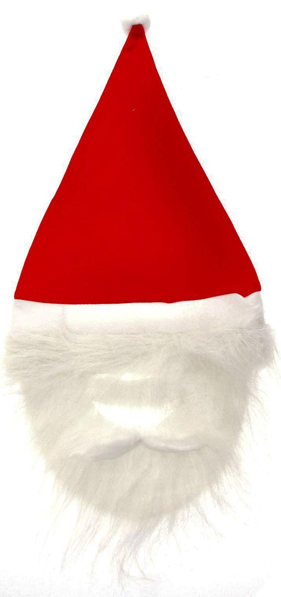 Колпак новогодний Страна Карнавалия Дед Мороз. С бородой. 10745631074563Невозможно представить нашу жизнь без праздников! Мы всегда ждем их и предвкушаем, обдумываем, как проведем памятный день, тщательно выбираем подарки и аксессуары, ведь именно они создают и поддерживают торжественный настрой. Это отличный выбор, который привнесет атмосферу праздника в ваш дом!