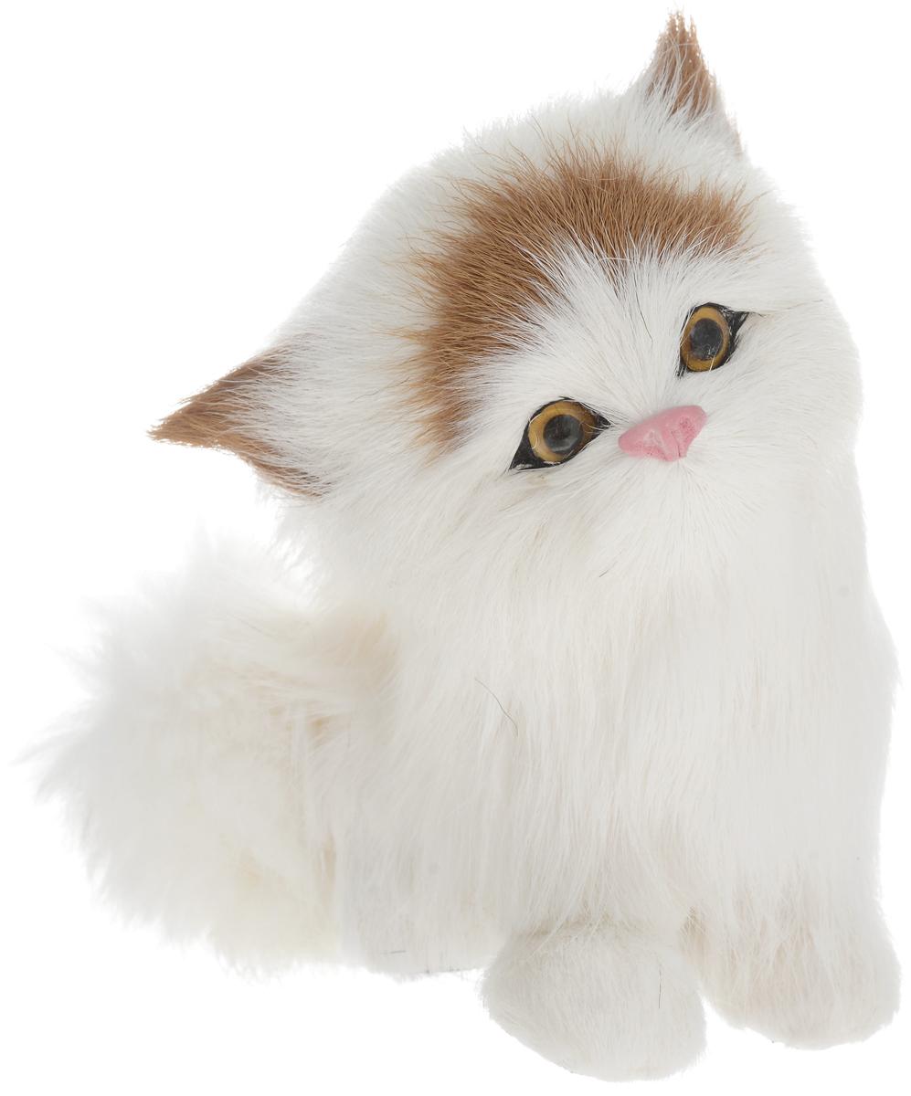 Vebtoy Фигурка Котенок сидящий цвет белый C215 vebtoy фигурка котенок сидящий цвет белый c226