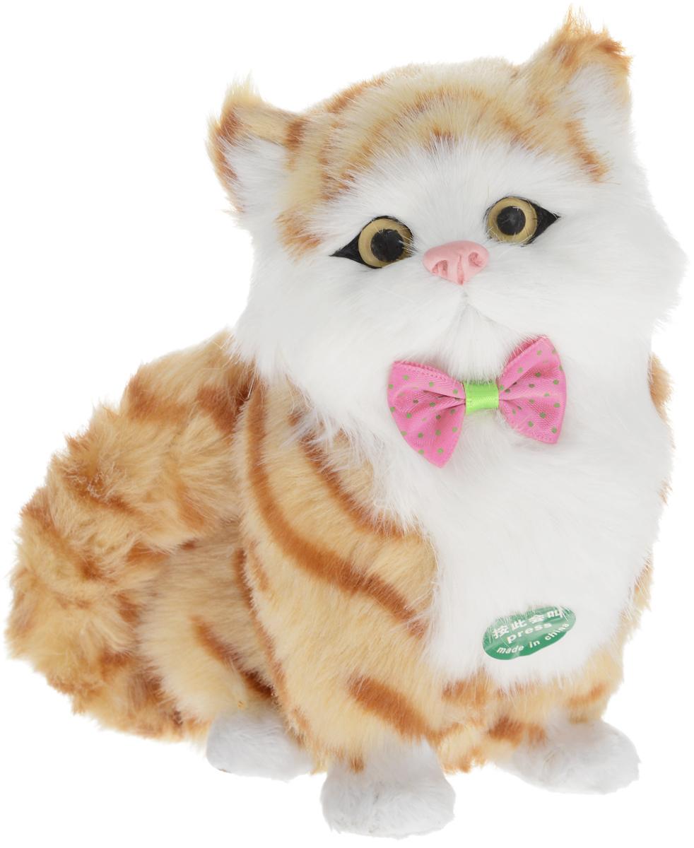 Vebtoy Фигурка Сидячий котенок цвет оранжевый vebtoy фигурка котенок сидящий цвет белый c226
