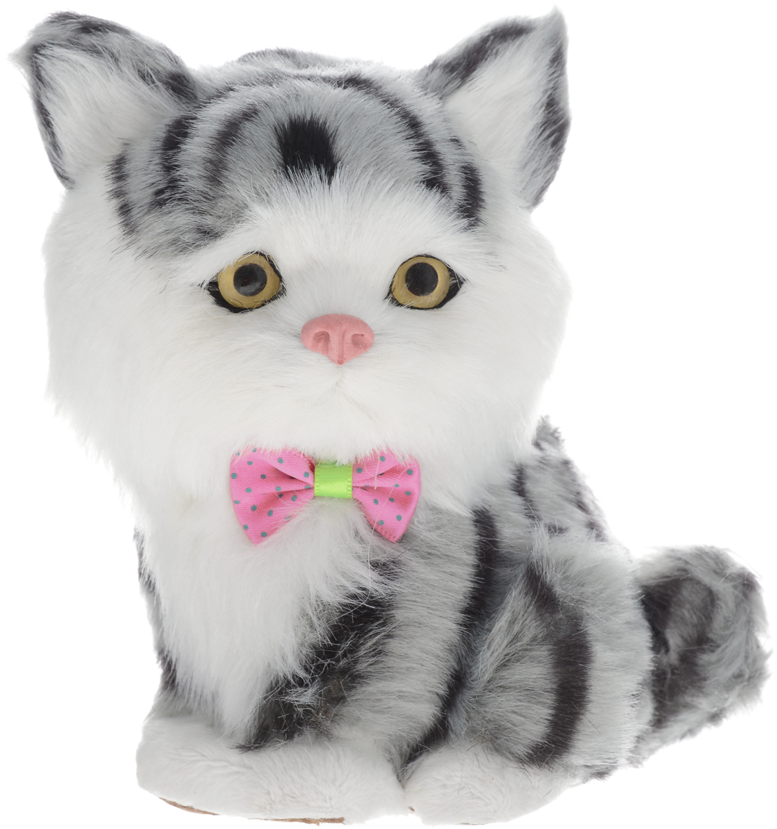 Vebtoy Фигурка Котенок сидящий цвет серый vebtoy фигурка котенок сидящий цвет белый c226