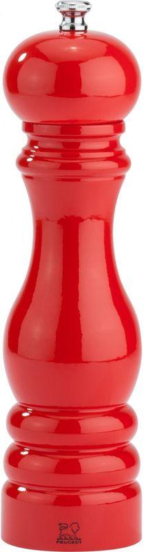 Мельница для соли Peugeot, высота 22 см. 3105331053Мельница для перца Peugeot классической формы идеально гармонирует со строгим лаковым покрытием красного цвета.Рекомендации по использованию: не используйте для соли или любой иной пряности кроме перца (даже для ягод под названием розовый перец);не используйте для влажной морской соли и соляного цветка (Геранд, Ре, Мальтон, розовая соль и другие);вытирать сухой и мягкой тряпочной;не мыть в посудомоечной машине;предохранять от влажности и жары.