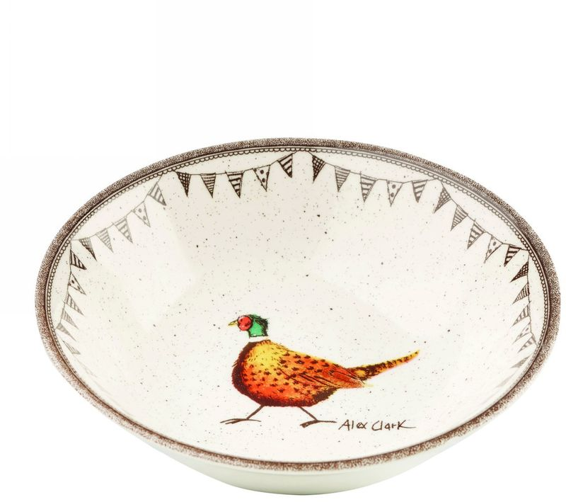 Тарелка глубокая Churchill, диаметр 15 смACWL00181Коллекция Живая природа - уникальное сочетание живой природы и прекрасные воспоминания из детства. Легкий и простой дизайн с пастельными красками идеально подойдет для любой кухни.