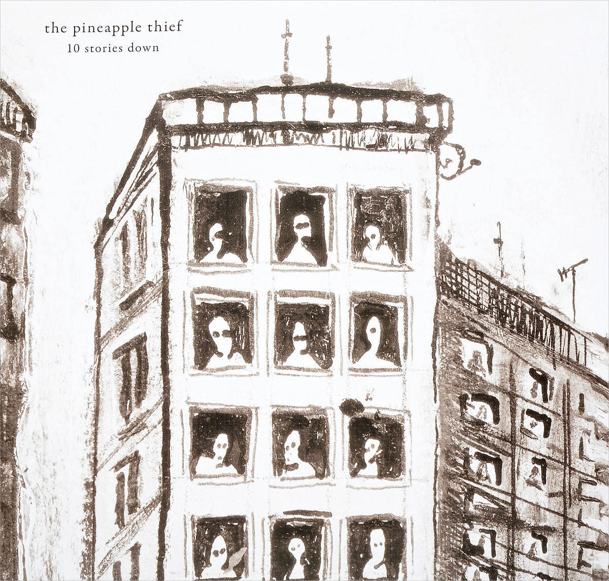 The Pineapple Thief The Pineapple Thief. 10 Stories Down (2 LP) pineapple print sheet set