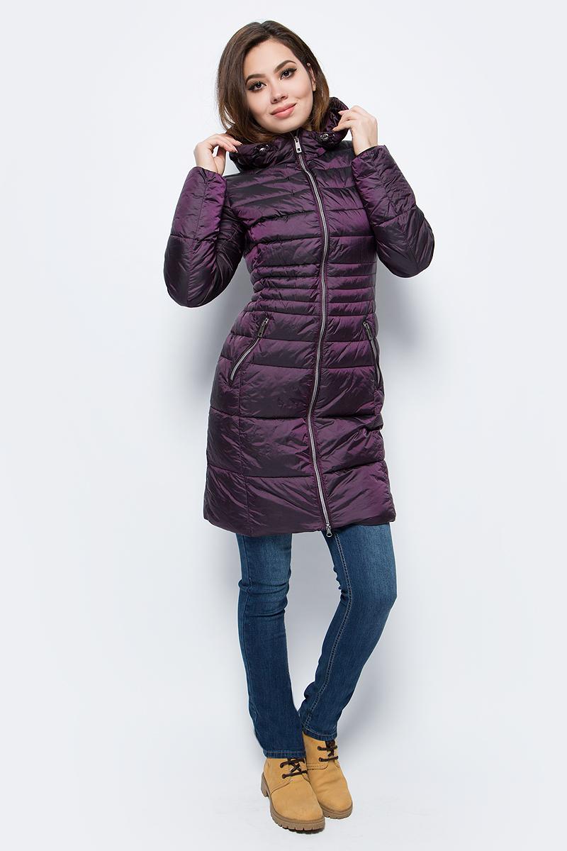 Куртка женская Grishko, цвет: бордовый. AL - 3297. Размер 50AL - 3297Стильное пальто приталенного кроя с прорезными карманами на молнии. Теплый капюшон, рукава на фиксируемом манжете и комфортная длина сделают эту куртку незаменимой вещью в холодную осеннюю и зимнюю погоду. Утеплитель 100% микрофайбер – утеплитель нового поколения, который отличается повышенной теплоизоляцией, антибактериальными свойствами, долговечностью в использовании, и необычайно легок в носке и уходе. Изделия легко стираются в машинке, не теряя первоначального внешнего вида. Комфортная температура носки до -15 градусов.