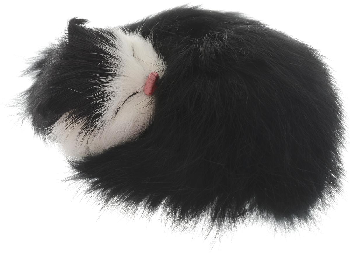 Vebtoy Фигурка Котенок в клубочке цвет черный vebtoy фигурка котенок сидящий цвет белый c226