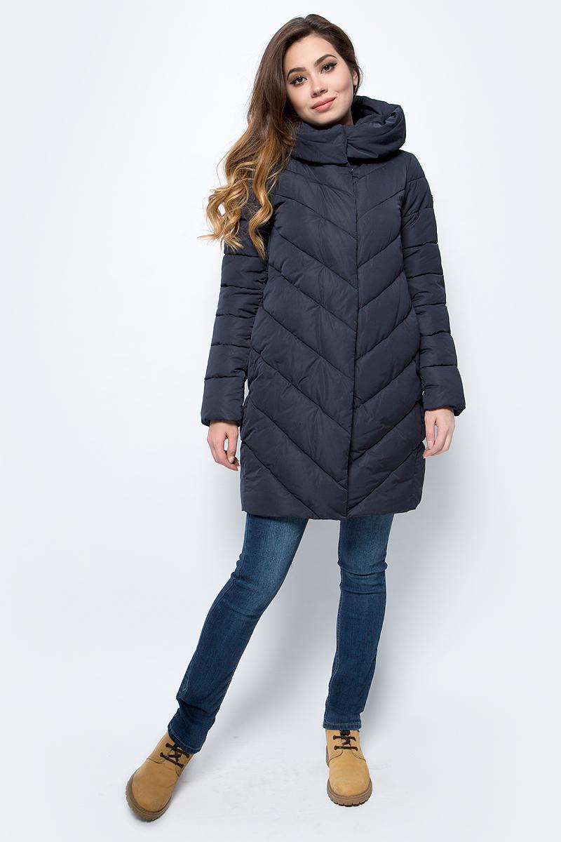 Куртка женская Grishko, цвет: темно-синий. AL - 3298. Размер 50AL - 3298Стильное пальто на молнии и кнопках с прорезными карманами на кнопках. Теплый удобный капюшон и комфортная длина делают его незаменимой вещью в холодную осеннюю и зимнюю погоду. Утеплитель 100% микрофайбер – утеплитель нового поколения, который отличается повышенной теплоизоляцией, антибактериальными свойствами, долговечностью в использовании, и необычайно легок в носке и уходе. Изделия легко стираются в машинке, не теряя первоначального внешнего вида. Комфортная температура носки до -15 градусов.