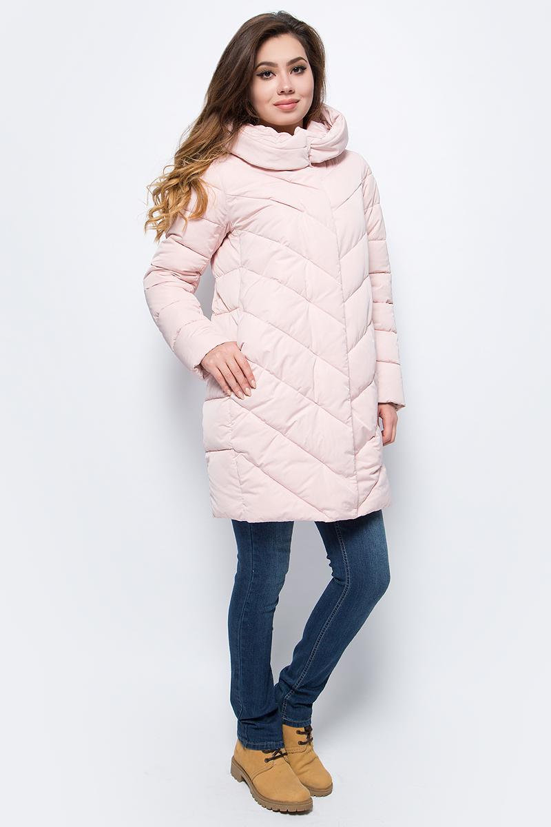 Куртка женская Grishko, цвет: розовый. AL - 3298. Размер 50AL - 3298Стильное пальто на молнии и кнопках с прорезными карманами на кнопках. Теплый удобный капюшон и комфортная длина делают его незаменимой вещью в холодную осеннюю и зимнюю погоду. Утеплитель 100% микрофайбер – утеплитель нового поколения, который отличается повышенной теплоизоляцией, антибактериальными свойствами, долговечностью в использовании, и необычайно легок в носке и уходе. Изделия легко стираются в машинке, не теряя первоначального внешнего вида. Комфортная температура носки до -15 градусов.